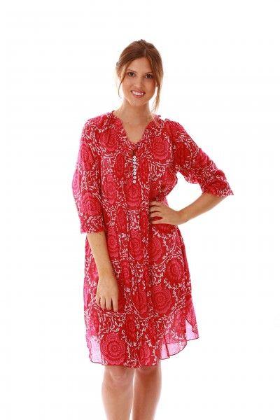jamjam Wild Ivy Pink Dress