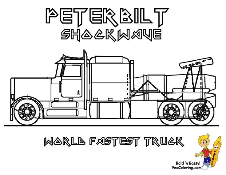 50 best Free Tough Truck Coloring Pages images on Pinterest - best of jets hockey coloring pages
