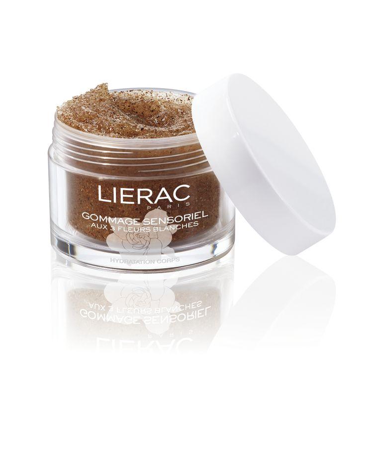 Le Gommage sensoriel aux 3 Fleurs Blanches #Lierac #LieracParis