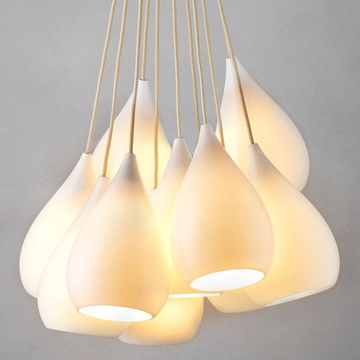 Original btc drop grouping of eleven ceiling light