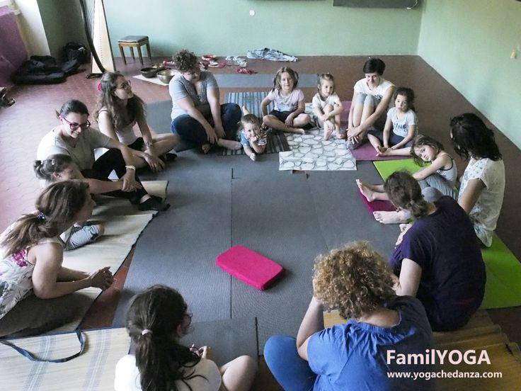Si è concluso FamilYOGA, lo Yoga con i genitori a Montorso