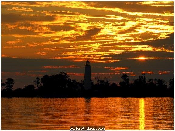 "Port Elgin, Ontario. Guinness Book of World Records holder for ""best sunsets"" in the world."