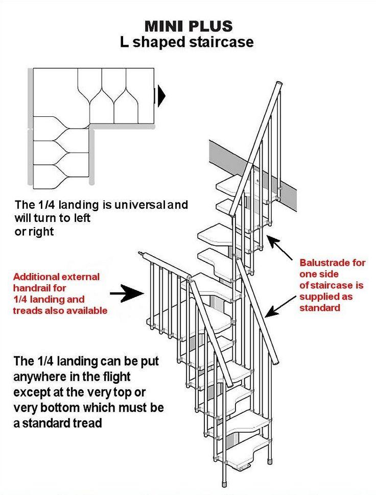 Gamia Mini Plus, Space Saver Staircase, Loft Stairs, Loft Staircase