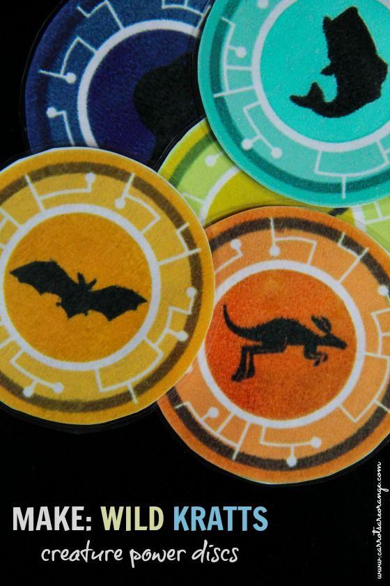 CREATURE POWER DISCS POST Wild Kratts Creature Power Discs