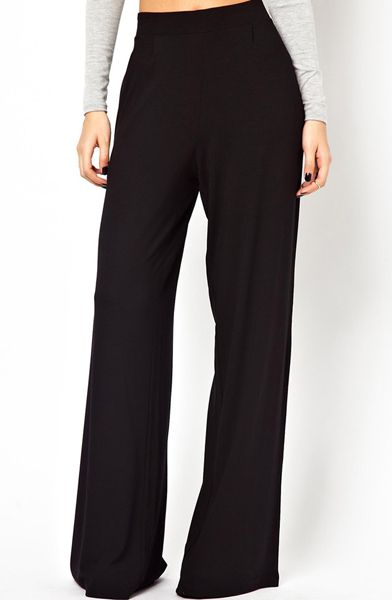 Casual Style High Waist Solid Color Waisted Corset Wide Leg Women's Pants