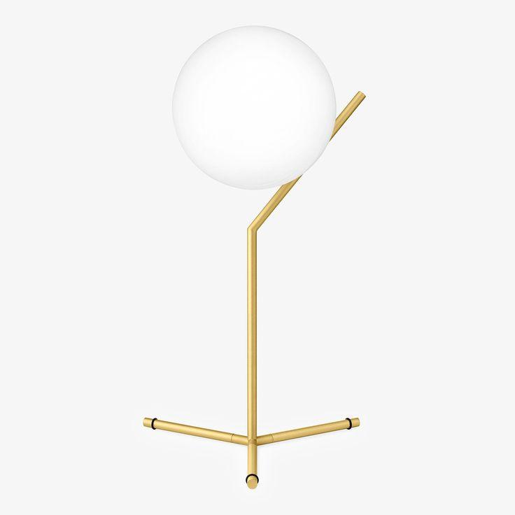 Flos brass table lamp abc carpet home