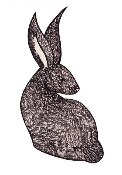 ... au pays des lapins | Poème : LAPINS de Théodore de Banville