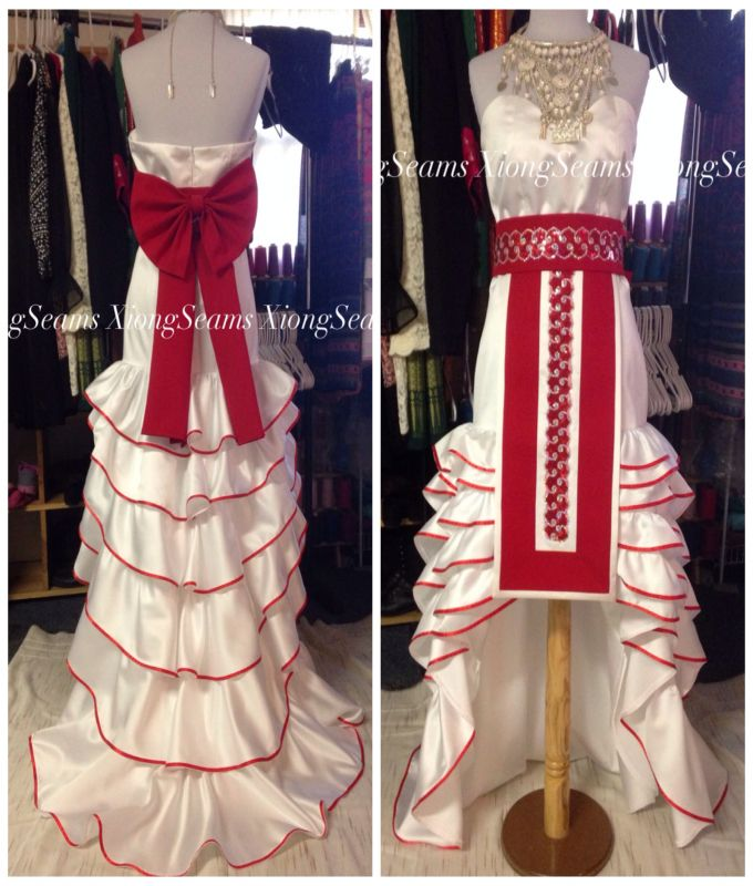Hmong American Wedding Dress