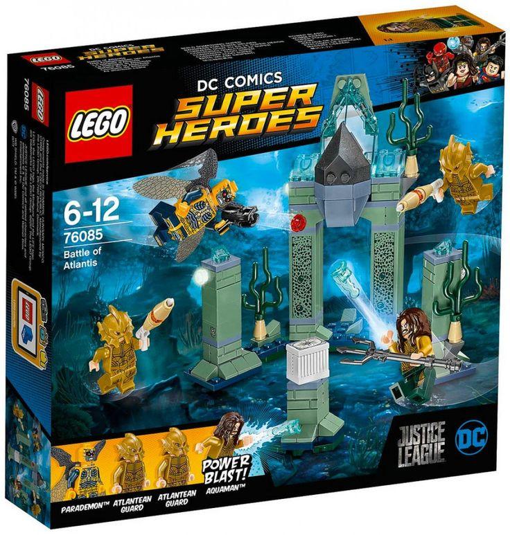 LEGO DC Comics Super Heroes 76085 : Battle of Atlantis - Août 2017