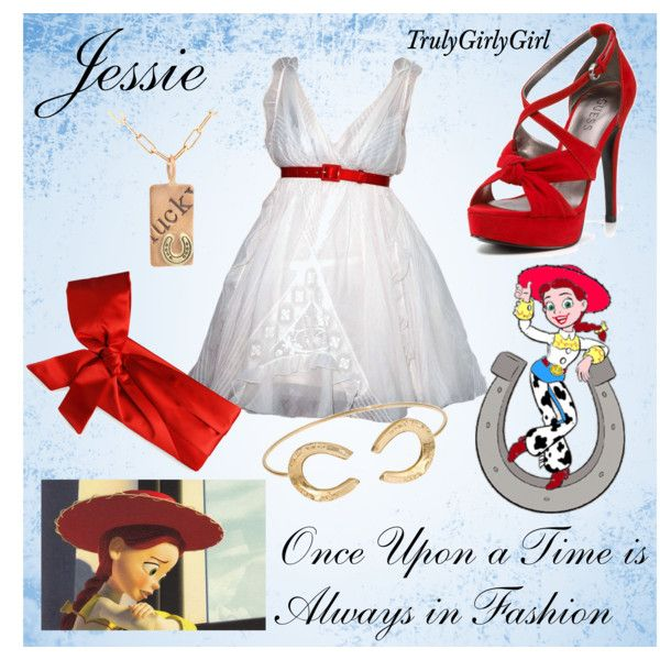 Disney Style: Jessie, created by trulygirlygirl on Polyvore