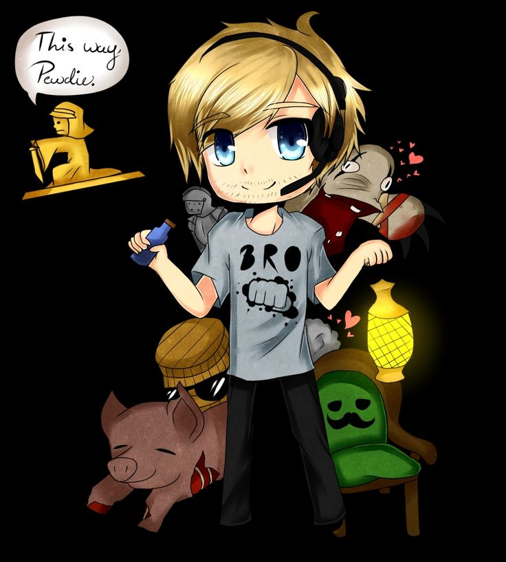 Mr chair, Piggeh, Stephano, BARRELS, PewDiePie | Stephano ...