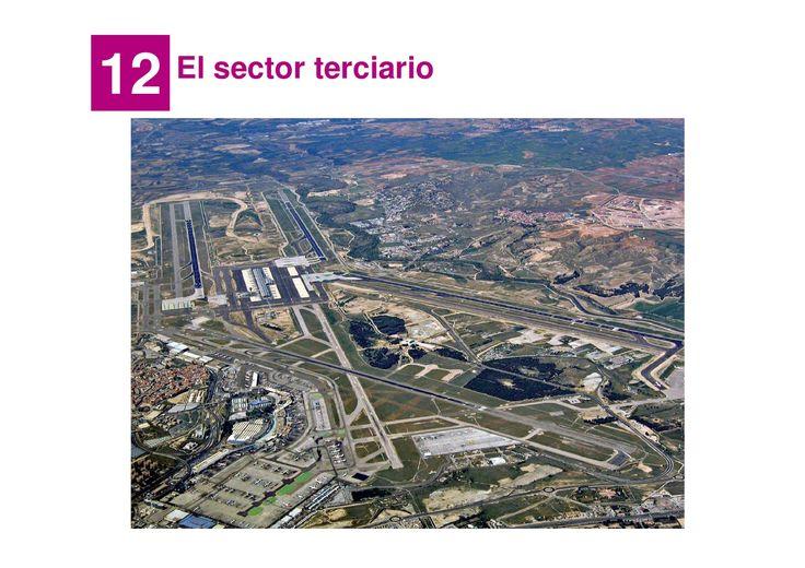 Tema 7. El sector terciario by Manuel Pimienta via slideshare