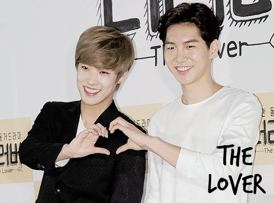 """The Lover (2015)  Korean drama about four cohabitating couples and their daily lives. One of them (Takuya & Joonjae) will have a """"dangerous bromance""""."""