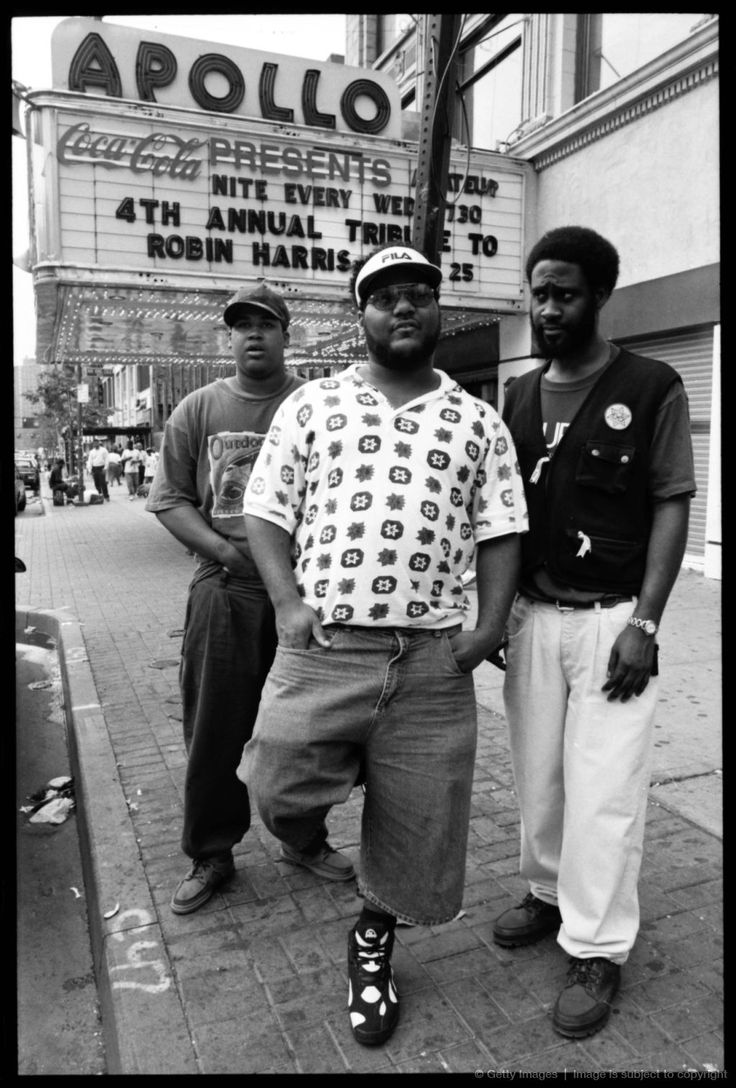 De La Soul outside The Apollo.