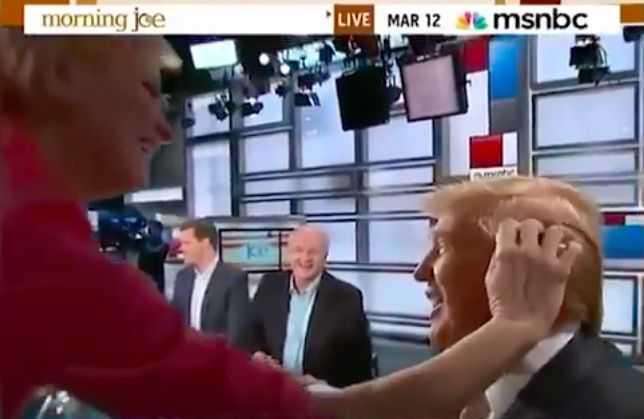 THE LOST VIDEO: Watch MSNBC'S Mika Shamelessly Flirt With Donald Trump [VIDEO]