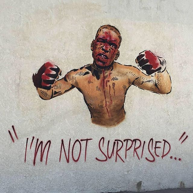 Nate Diaz fan art.