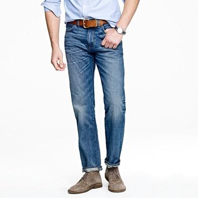 J.Crew: A Mini-Saia Jeans, Beaches Portraits,  Blue Jeans,  Denim, Men'S Worn, Portraits Attire, Worn Jeans, Cod Beaches, Capes Cod