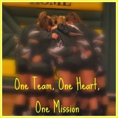 One Team, One Heart, One Mission-Volleyball