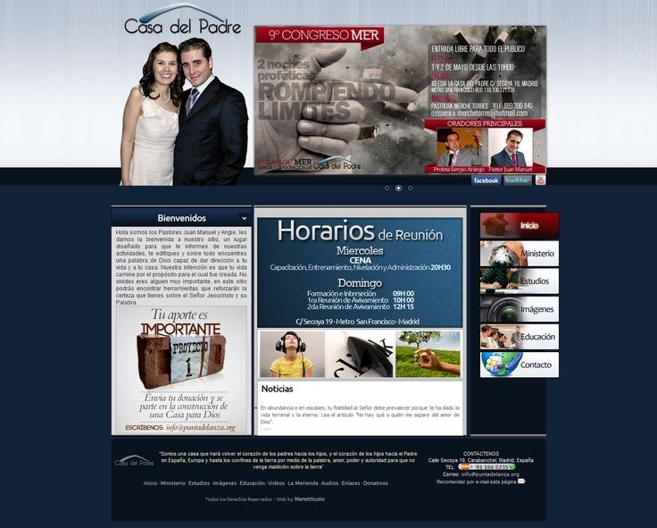 página web ruso besando en Madrid