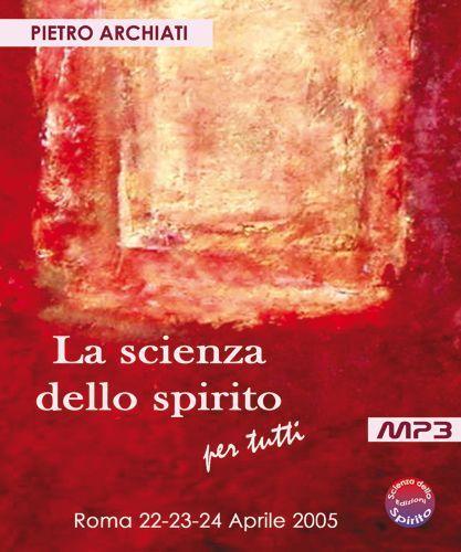La Scienza dello Spirito per tutti - audio CD - copertina