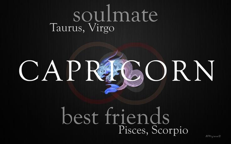 Soul mates of the Capricorn