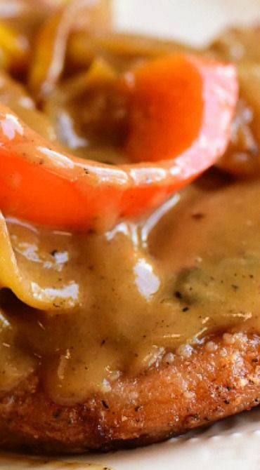 Smothered Pork Chops ~ Yummy comfort food