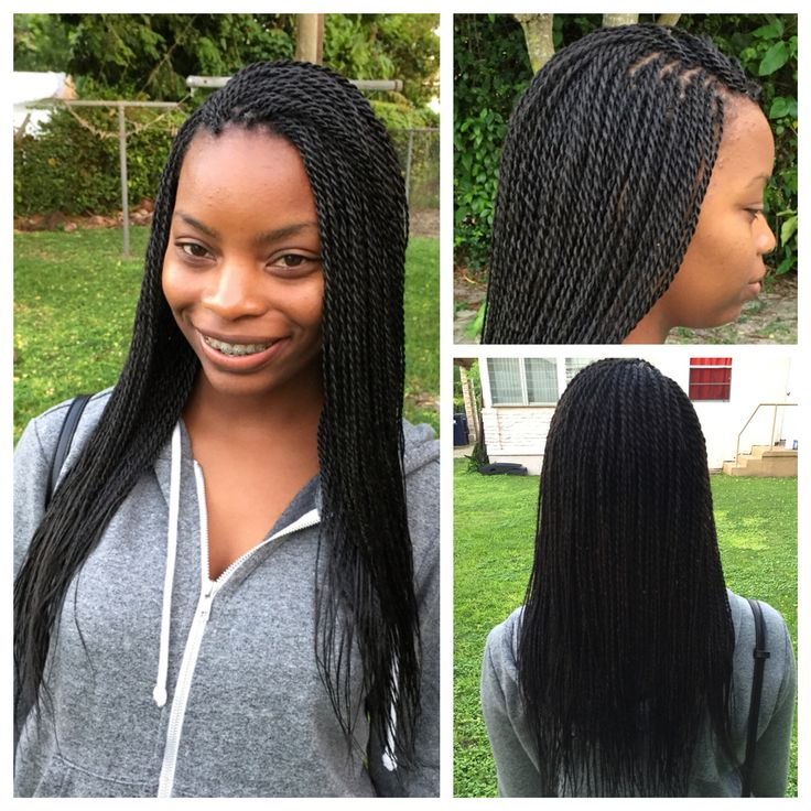 Small Senegalese twists