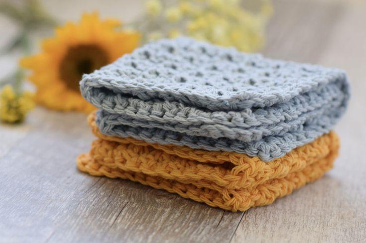 1000+ Ideas About Crochet Dishcloth Patterns On Pinterest