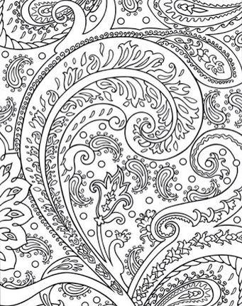 Paisley Pattern Colouring Sheets : 62 best desenhos images on pinterest