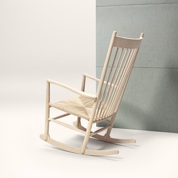 Wegner J16 Rocking Chair