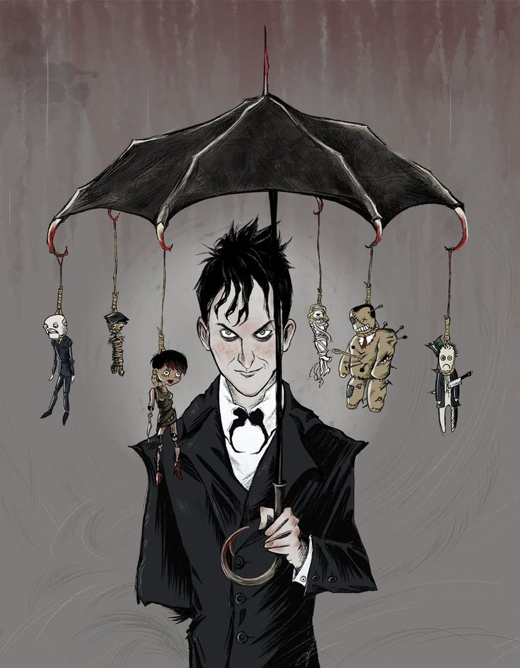 Penguin's Umbrella by Myrrha-Silvenia on DeviantArt