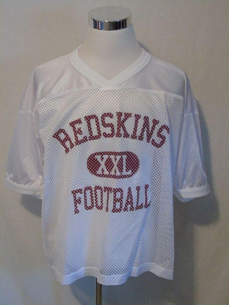 VTG WASHINGTON REDSKINS NFL Football Jersey Practice Mesh XL #TeamNFL #WashingtonRedskins