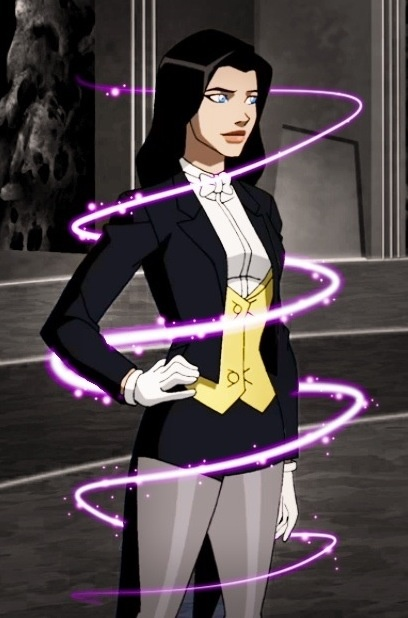 "Zatanna (Zatanna Zatara) is a fictional character, a super-heroine in the DC Comics universe. Created by writer Gardner Fox and artist Murphy Anderson, Zatanna first appeared in Hawkman vol. 1 #4 in 1964. One of the greatest magic-users, Zatanna is a magician like her father the legendary magician Zatara (Giovanni ""John"" Zatara). Her method of spell-casting involves speaking words and sentences backwards. In addition to her career as a heroine, she is also a very notable stage performer. She…"