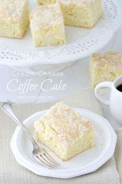 Cream Cheese Coffee Cake | Mother Thyme