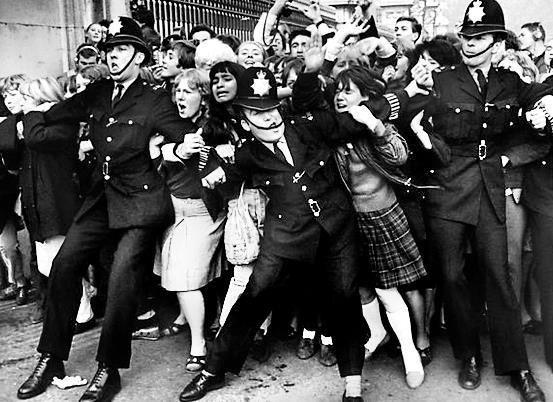 beatlemania the rise to popularity of the beatles Beatlemania hit 50 years ago but why did it drive girls so mad  coined in october 1963 during the beatles' tour of scotland,  most popular on the conversation.