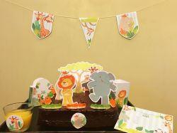 Recette Gâteau d'anniversaire sur le thème des Animaux de la Jungle - Les P'tites Recettes