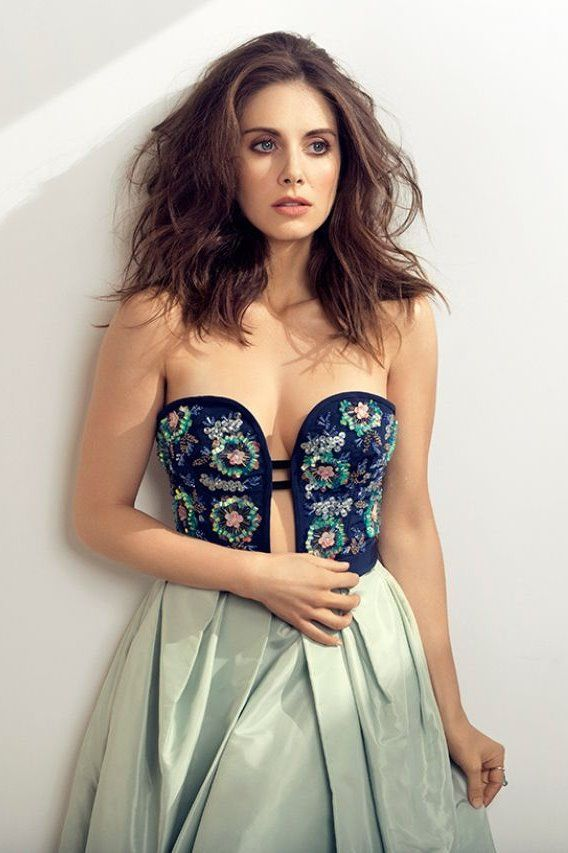 Alison Brie • New York Post 2016