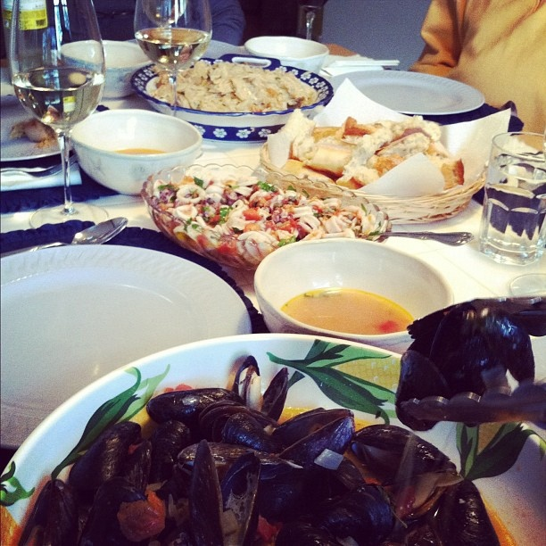 Seven fish feast an italian christmas eve by spantil via for 7 fishes christmas eve