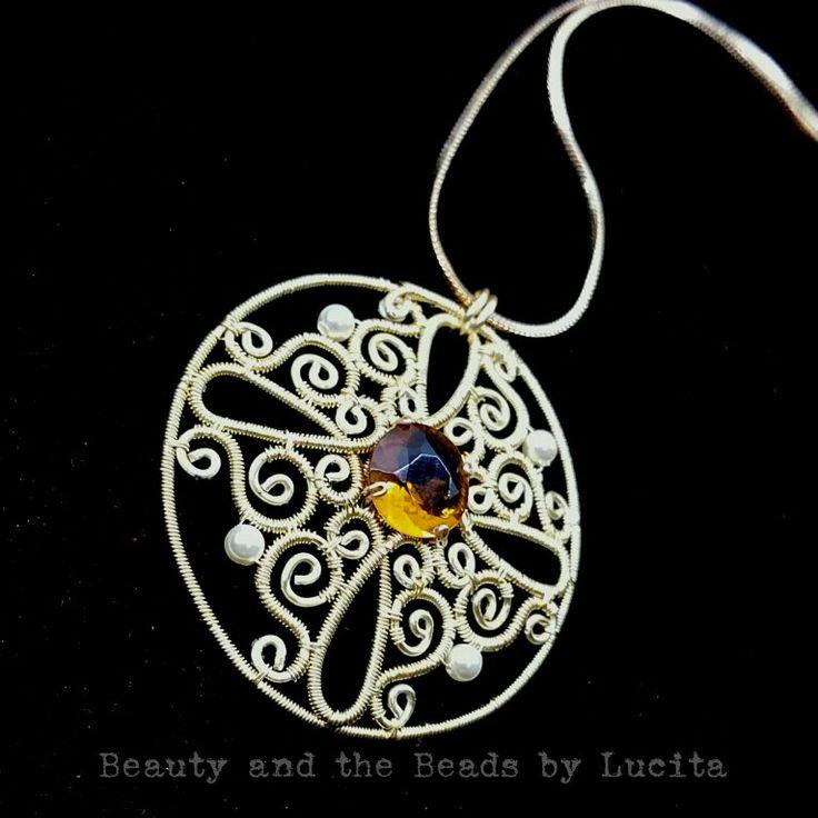Golden Medallion Necklace