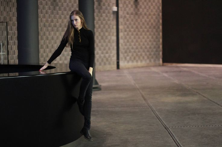Clean and #elegant. Our premium #merino wool #henley is perfectly designed for every women. Its princess cut with decent details. Photoshoot was held in Ostrava city, renewed part of the industrial zone Vítkovice.  Click for more ITIS wool gear!