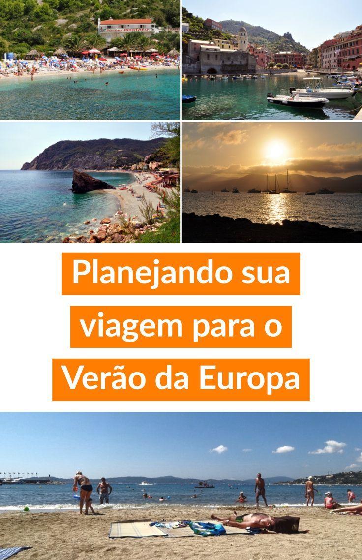 As melhores dicas e destinos para planejar sua viagem para curtir o verão na Europa com muito sol, praia e mar.