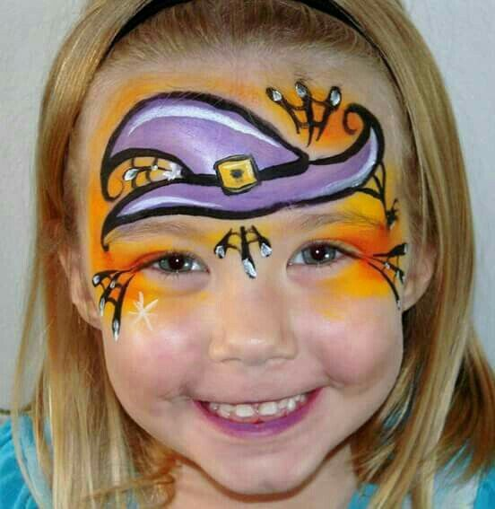 Cute Cat Face Painting Ideas For Halloween