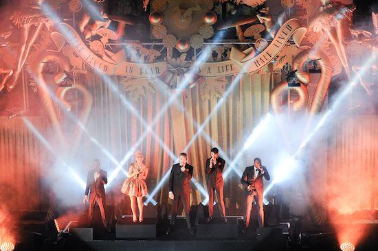 A dazzling performance Barneys 2014