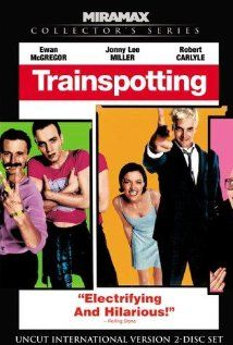 Trainspotting: Renton, deeply immersed in the Edinburgh drug scene, tries to clean up and get out, despite the allure of the drugs and influence of friends