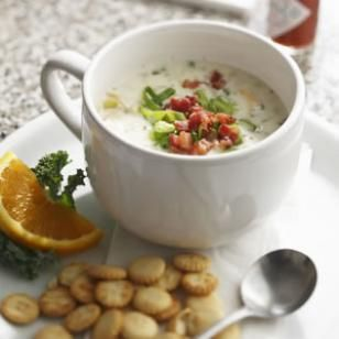 New England Clam Chowder Recipe to celebrate National Clam Chowder Day!