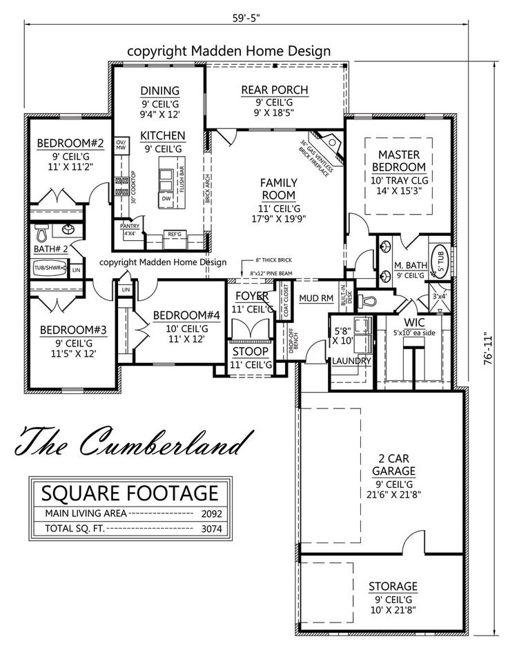 150 best house plans 1800-2200 sq ft images on pinterest | house