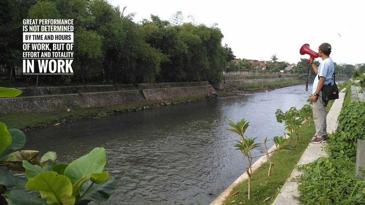 Sungai jangkok kota Mataram Lombok - NTB