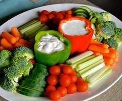 Peppers as Dip Holders
