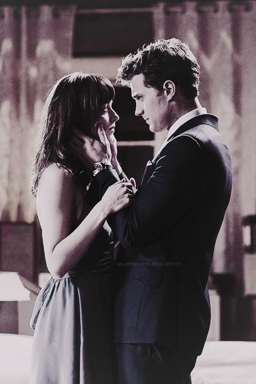 Mr. Grey & Miss. Steele / Fifty Shades Of Grey / movie / trilogy / Christian Grey / Jamie Dornan / Anastasia Steele / Dakota Johnson / 50 Shades