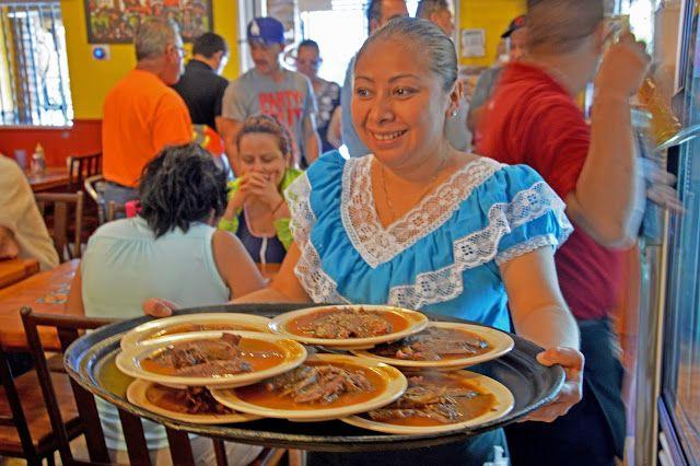 Goat meat @ Birrieria Don Boni  Viaggi e Delizie: Melting Pot Food Tours in Los Angeles  http://www.viaggiedelizie.com/2015/07/melting-pot-food-tours-in-los-angeles.html